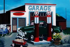 Old fashion garage